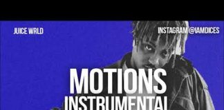 Juice Wrld Motions Instrumental Prod. by Dices