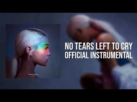 Ariana Grande No Tears Left To Cry Instrumental